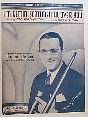 Sheet Music For 1934 I'm Gettin' Sentimental Over You (Image1)