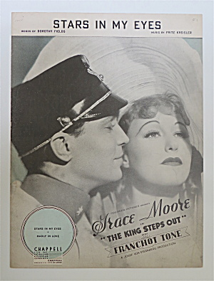 Sheet Music For 1936 Stars In My Eyes