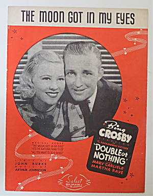 Sheet Music For 1937 The Moon Got In My Eyes