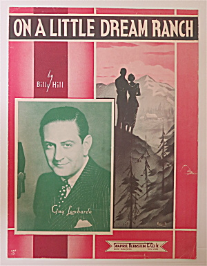 Sheet Music For 1937 On A Little Dream Ranch (Image1)