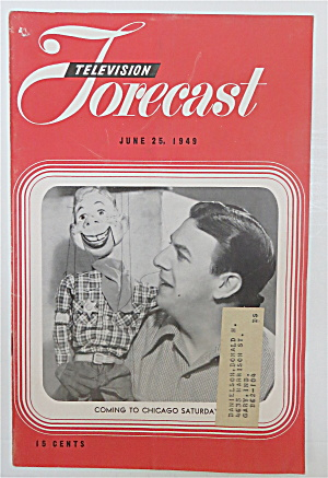 Television Forecast June 25, 1949 Howdy Doody