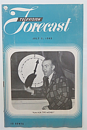 Television Forecast July 9, 1949 Johnny Olsen