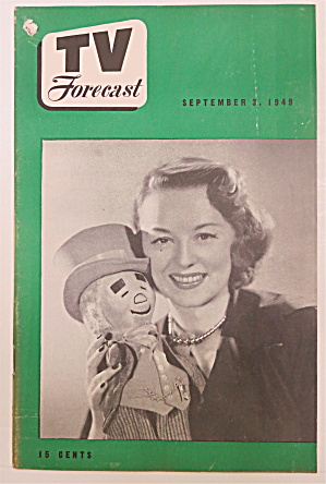 Television Forecast September 3 , 1949 Uncle Mistletoe