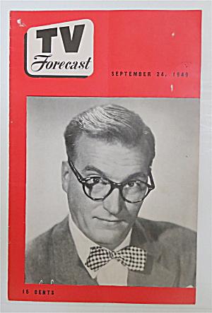 Television Forecast September 24, 1949 Dave Garroway (Image1)