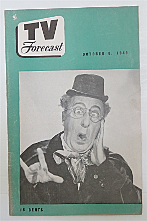Television Forecast October 8, 1949 Ed Wynn