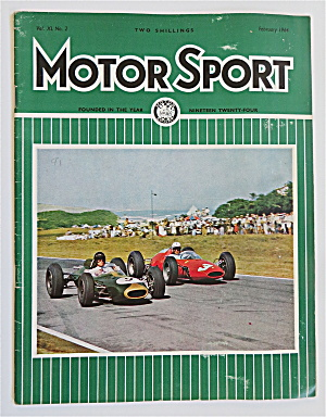 Motor Sport Magazine February 1964 Race By The Sea