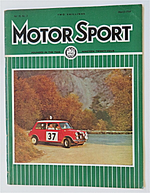Motor Sport Magazine March 1964 The Winner