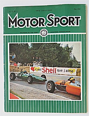 Motor Sport Magazine May 1964 First F 2 Race