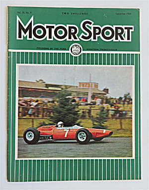 Motor Sport Magazine September 1964 John Surtees