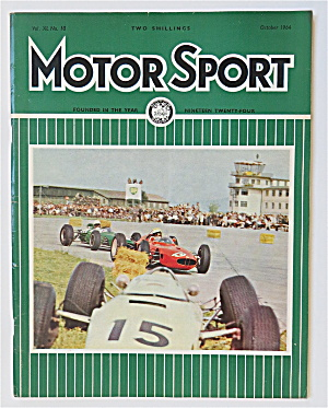 Motor Sport Magazine October 1964 Private Entries