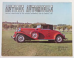 Antique Automobile March-April 1969 1932 Auburn V-12 (Image1)