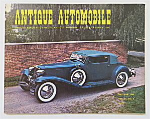 Antique Automobile May-june 1969 1930 L29 Cord