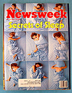 Newsweek Magazine - July 13, 1981 - Secrets Of Sleep