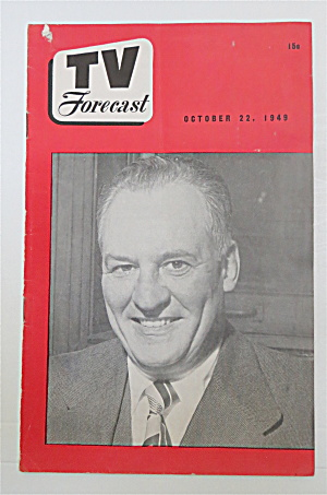 Television Forecast October 22, 1949 Red Grange