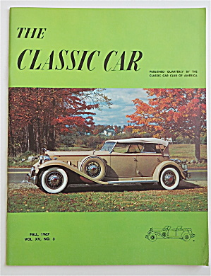 The Classic Car Magazine Fall 1967 1932 Sports Phaeton (Image1)