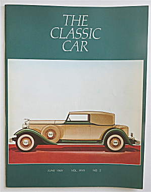 The Classic Car Magazine June 1969 1932 Lincoln (Image1)