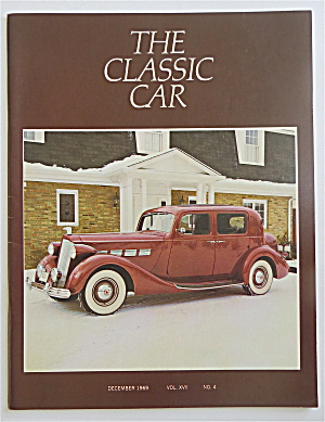 The Classic Car Magazine December 1969 1937 Packard