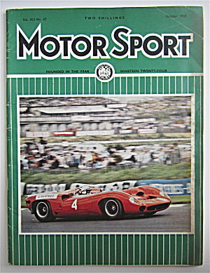 Motor Sport Magazine October 1965 Winning Trend