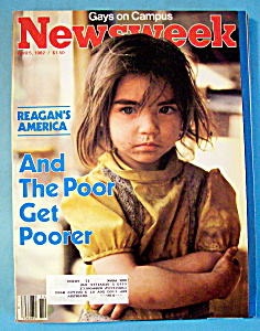 Newsweek Magazine - April 5, 1982 - Poor Get Poorer