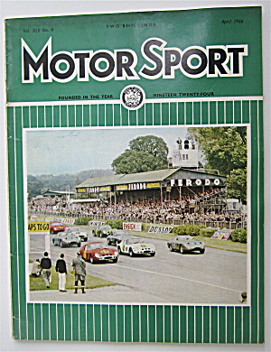 Motor Sport Magazine April 1966 The End?