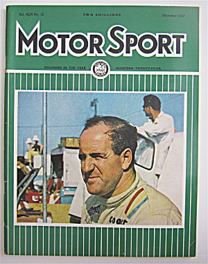 Motor Sport Magazine December 1967 World Champion