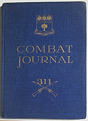 1944-45 Combat Journal - Timberwolf Regiment - 78th Div