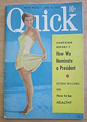 Quick Magazine June 16, 1952 Esther Williams (Image1)