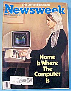 Newsweek Magazine - February 22, 1982 (Image1)