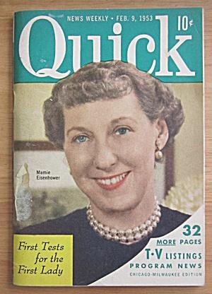 Quick Magazine February 9, 1953 Mamie Eisenhower (Image1)