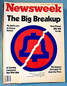 Newsweek Magazine - January 18, 1982 - Big BreakUp (Image1)