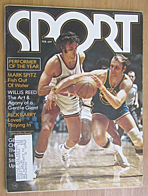 Sport Magazine February 1973 Rick Barry
