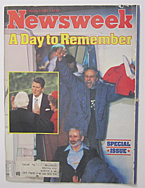 Newsweek Magazine - February 2, 1981 - Day To Remember (Image1)