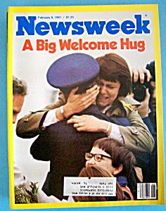 Newsweek Magazine - February 9, 1981 - Big Welcome Hug (Image1)