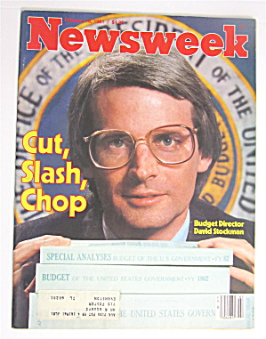 Newsweek Magazine February 16, 1981 David Stockman (Image1)