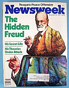 Newsweek Magazine - November 30, 1981 - Hidden Freud (Image1)