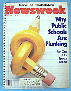Newsweek Magazine - April 20, 1981 - Public Schools (Image1)