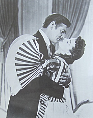 1950's Movie Still Of Clark Gable & Vivien Leigh