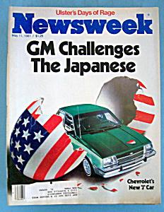 Newsweek Magazine - May 11, 1981 - Chevy's New J Car (Image1)