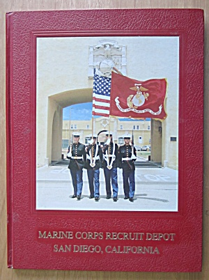 1985 Us Marine Corps Recruit San Diego, Ca Yearbook