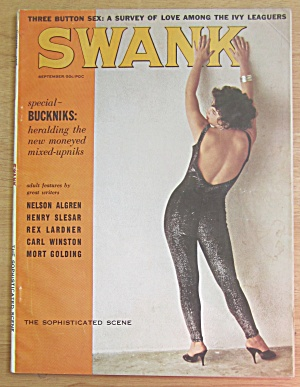 Swank Magazine September 1960 Buni Bacon