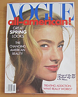 Vogue Magazine February 1989 Elaine Irwin