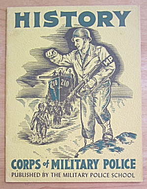 History Corps Of Military Police June 1948