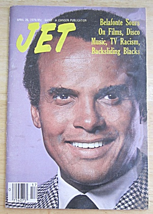 Jet Magazine April 26, 1979 Harry Belafonte
