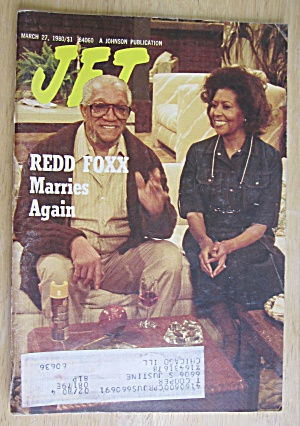 Jet Magazine March 27, 1980 Redd Foxx Marries Again