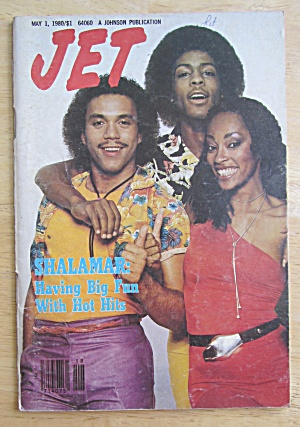 Jet Magazine May 1, 1980 Shalamar: Having Big Fun