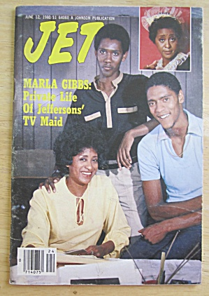 Jet Magazine June 12, 1980 Marla Gibbs-jeffersons Maid