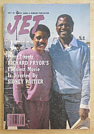 Jet Magazine July 10, 1980 Richard Pryor/sidney Poitier