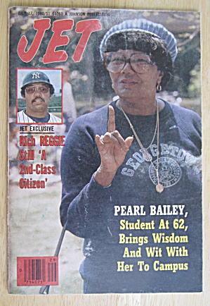 Jet Magazine July 17, 1980 Pearl Bailey/reggie Jackson