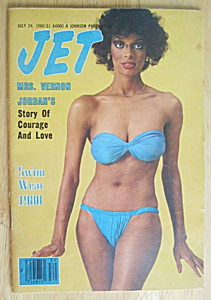 Jet Magazine July 24, 1980 Mrs. Vernon Jordan
