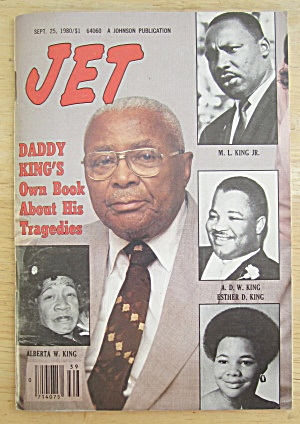 Jet Magazine September 25, 1980 Daddy King's Own Book